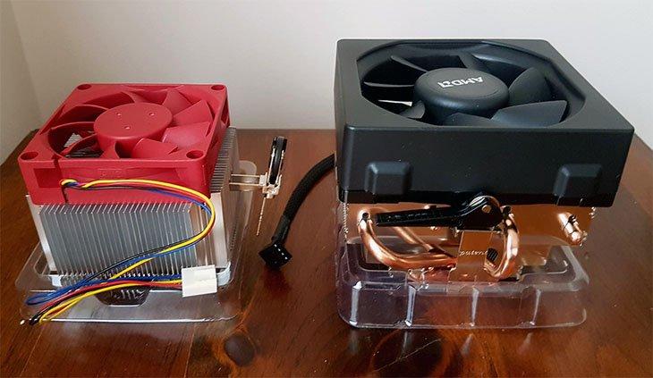 amd x4 845 cooler vs wraith cooler