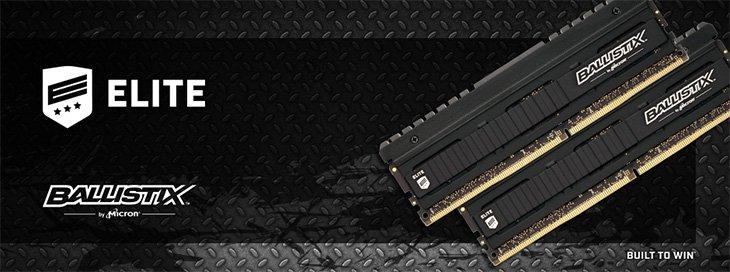 Ballistix Elite DDR4 3466 MHz 16GB Kit Review   RelaxedTech