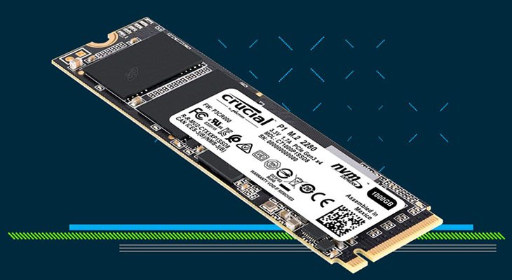 Crucial P1 SSD Review | RelaxedTech