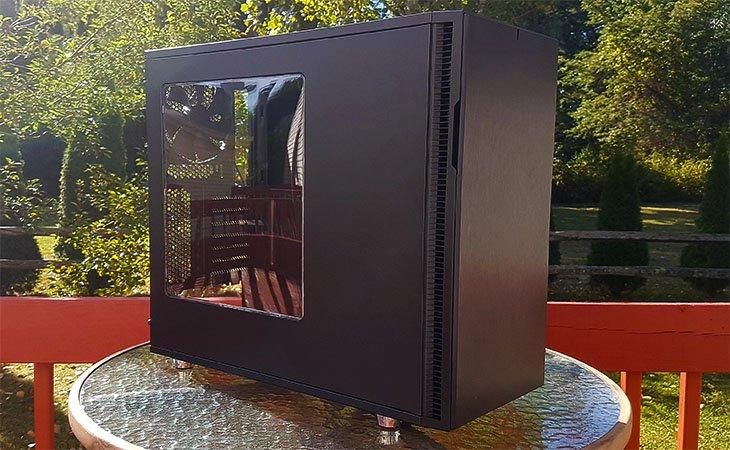 Fractal Design Define R5 Blackout Review Relaxedtech,Home Furniture Design Tv Unit