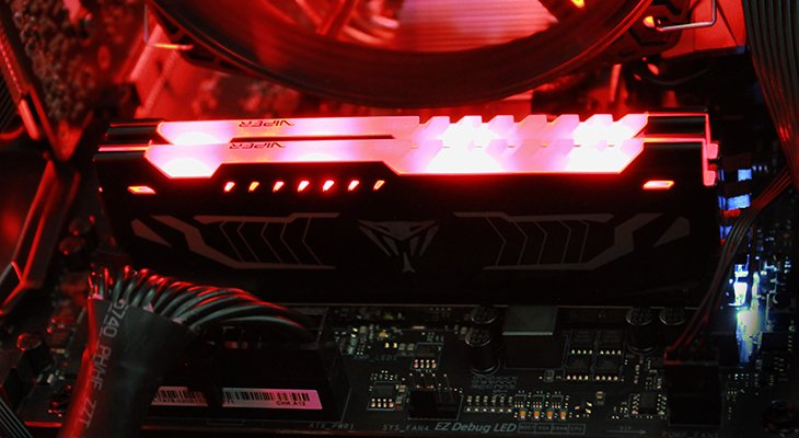 Patriot Viper LED DDR4 3000 MHz 16GB Kit Review | RelaxedTech