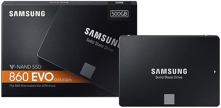 Samsung 860 Evo SSD Review