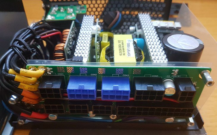 Silverstone Strider Platinum St75f Pt Design Amp Test Setup